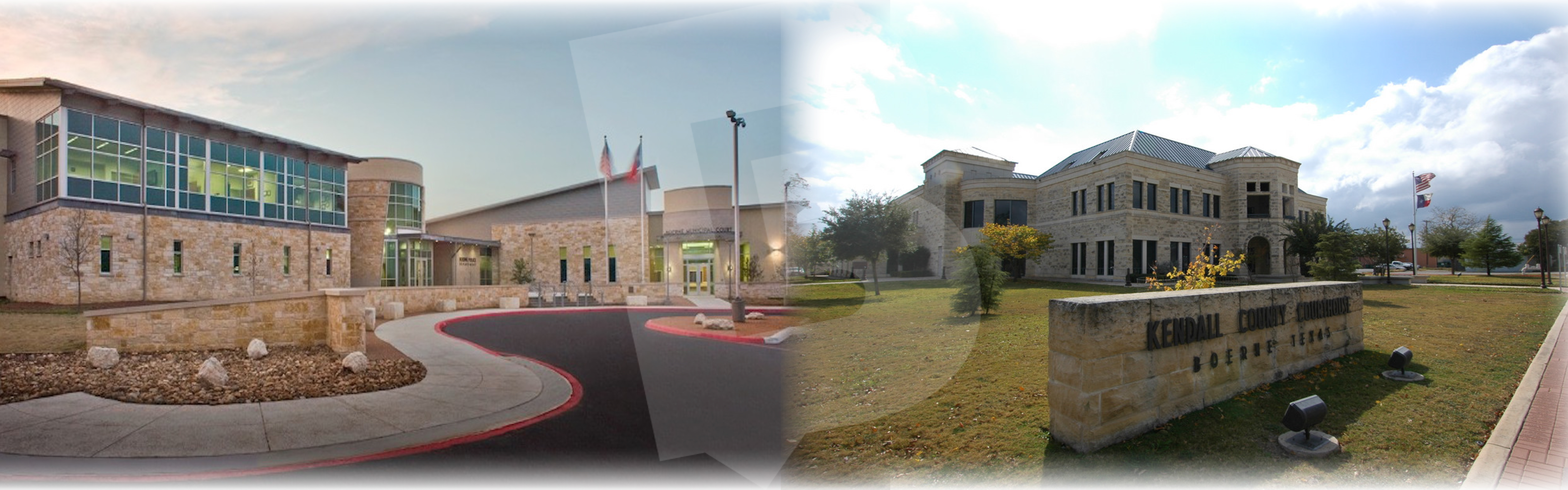 Boerne City Chambers and KC Courthouse