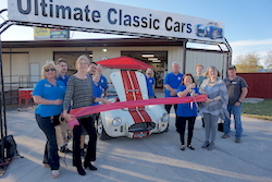 Ultimate Classic Cars Open House Ribbon Cutting