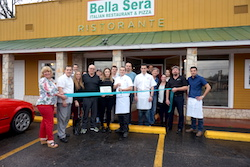 Bella Sera Boerne Italian Restaurant and Pizza Ribbon Cutting