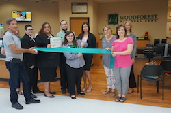 Woodforest National Bank Ribbon Cutting Photo