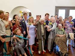Franklin Park Boerne Grand Opening Ribbon Cutting Photo