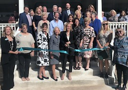 Phyllis Browning Company Boerne's New Location Opening Ribbon Cutting Photo