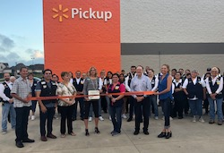 Boerne Walmart Grand Re-Opening Ribbon Cutting Photo