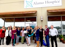 Alamo Hospice National Hospice and Palliative Month Ribbon Cutting Photo