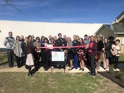 Hill Country Pregnancy Care Center's Nanny's Boutique Opening Ribbon Cutting Photo