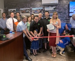 The Graphix House RIbbon Cutting Photo