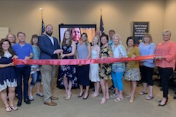 Driskill Films Ribbon Cutting Photo