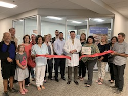 Medical Center Ophthalmology Associates Ribbon Cutting Photo