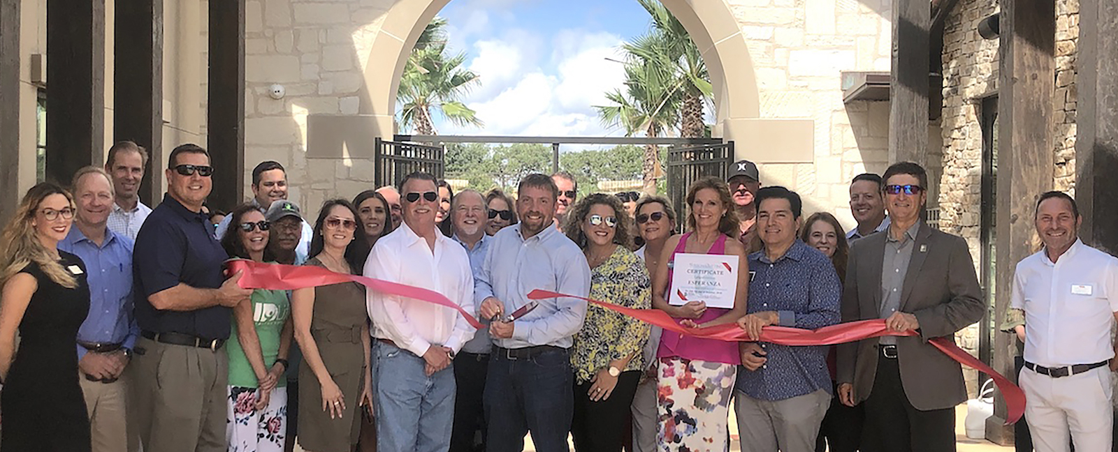 Esperanza Club Ribbon Cutting Image for Website