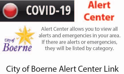 City of Boerne Alert Center Link