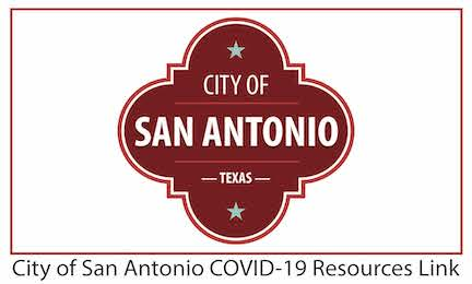 City of San Antonio COVID-19 Resources Link Image