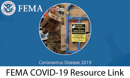 FEMA COVID-19 Resources Link Image