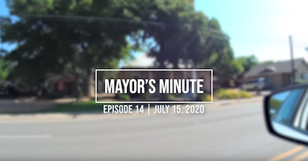 July 15 City of Boerne Mayor's Minute Video Link