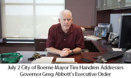 July 2 Mayor Handren Addresses Gov Abbott Executive Order