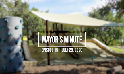 July 29 Mayor's Minute Video Link