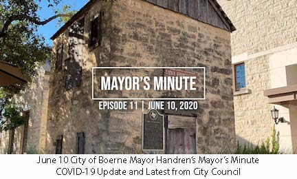 June 10 Mayor Handren's Mayor's Minute COVID-19 Update