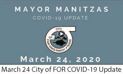 March 24 FOR COVID-19 Update Image