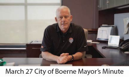 March 27 City of Boerne COVID-19 Update