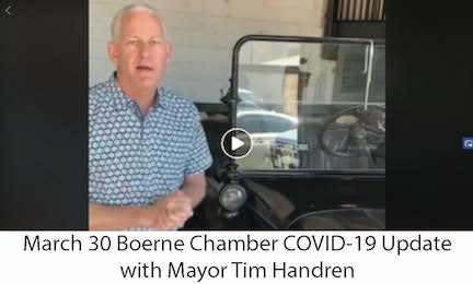 March 30 Boerne Chanber COVID-19 Update Link