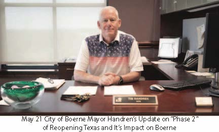 May 21 City of Boerne Mayor Handren's COVID-19 Update Link