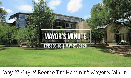 May 27 May Handren's Mayor's Minute Video Link Image