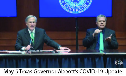 May 5 Texas Governor Abbott COVID-19 Update