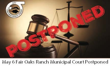 May 6 FOR Municipal Court Postponed Image Link