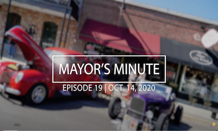 October 14th Mayor's Minute Video