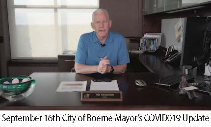 Sept 16th Mayor's COVID-19 Update