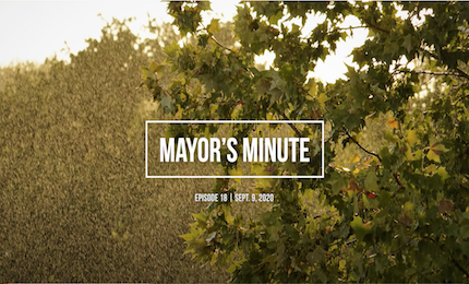 Sept 9 City of Boerne Mayor's Minute