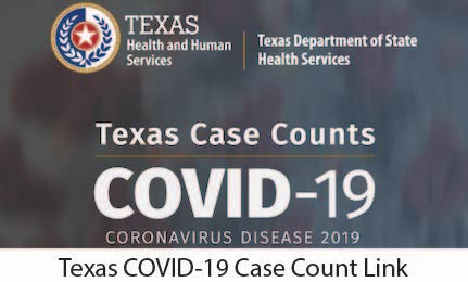 Texas COVID-19 Case Counts Link