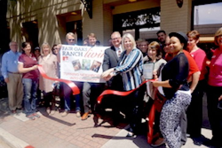 Fair Oaks Ranch Living Magazine Ribbon Cutting