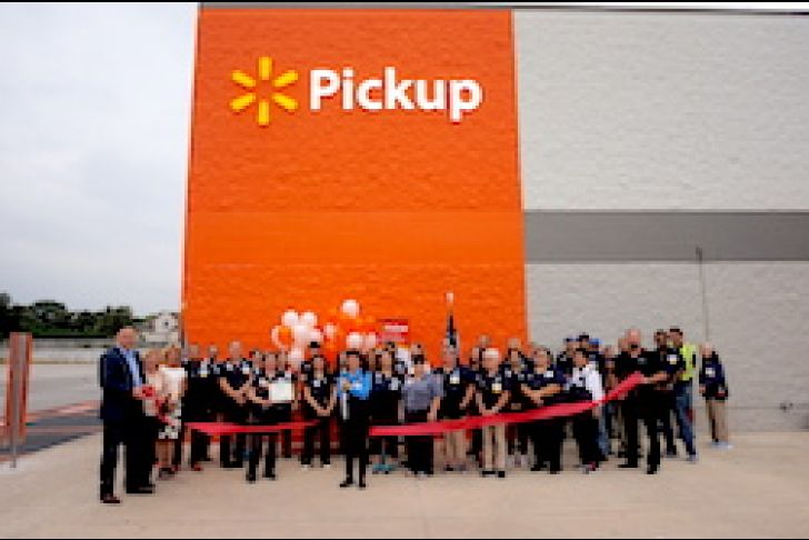 Walmart Boerne Grocery Pickup and Delivery Services Ribbon Cutting