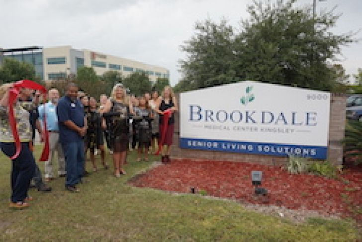Brookdale Kingsley Ribbon Cutting