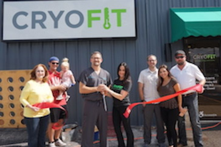 Cryofit Boerne Grand Opening Ribbon Cutting