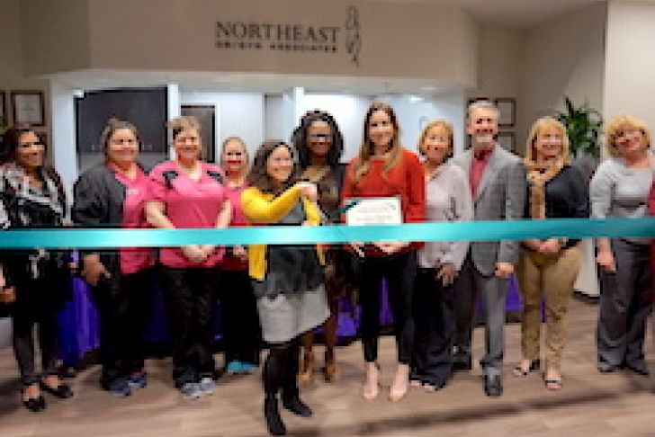 Northeast OB/GYN Associates New Location Ribbon Cutting Photo