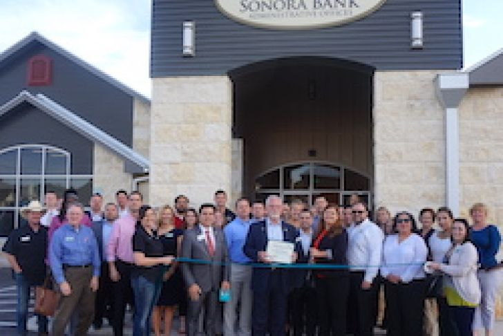 Sonora Bank Admin Office Ribbon Cutting Photo