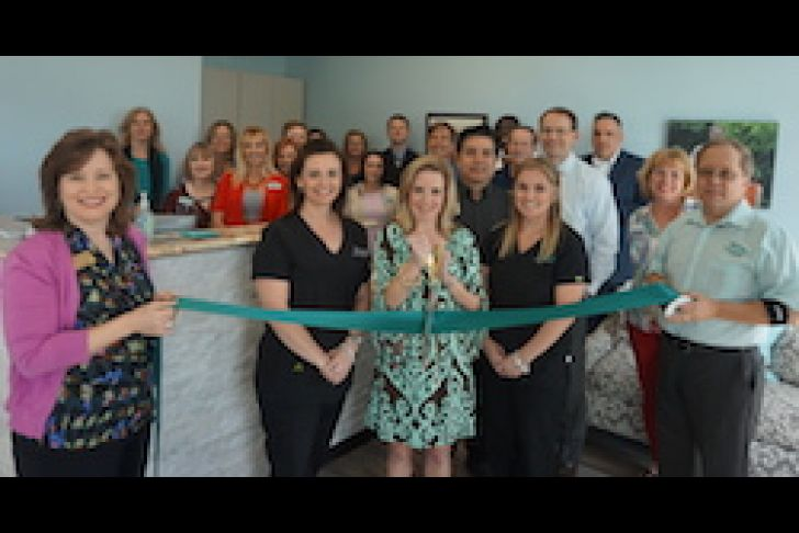 Johnson Eye Care's Grand Opening Ribbon Cutting