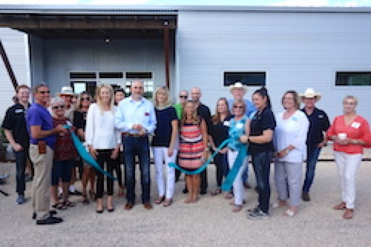 Texas Ranches for Sale Ribbon Cutting Photo