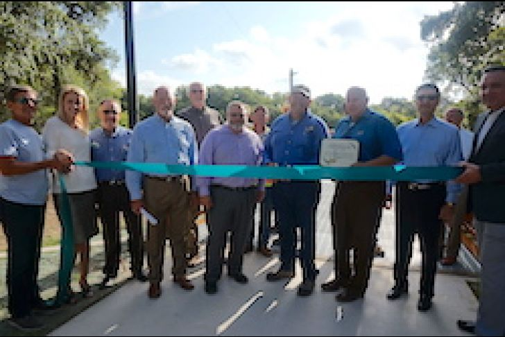 City of Boerne Trail Expansion Ribbon Cutting