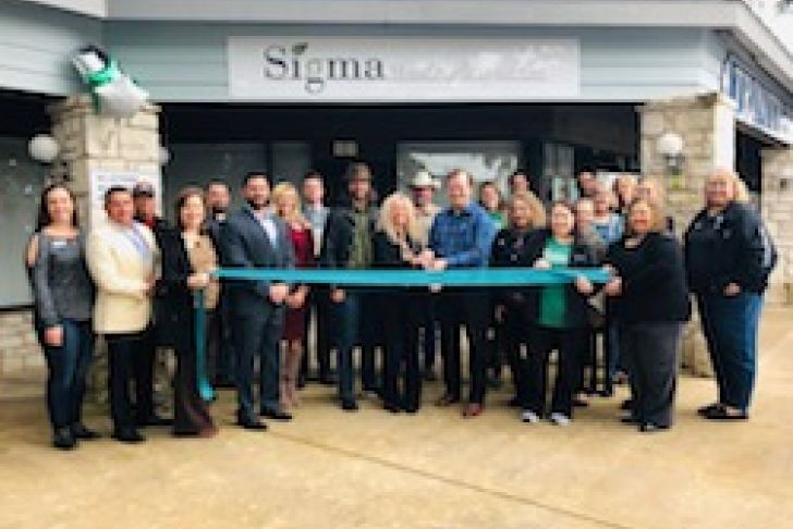Sigma Mental Health Urgent Care Ribbon Cutting Photo