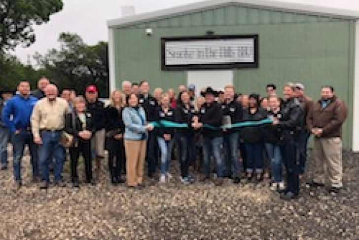 Smoke in the Hills BBQ's New Kitchen Opening Ribbon Cutting Photo