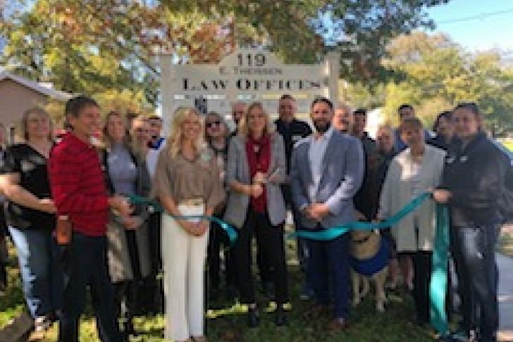Barthel Law Office Ribbon Cutting Photo