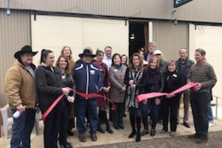 Stargazer Ranch & Casitas Grand Opening Ribbon Cutting photo