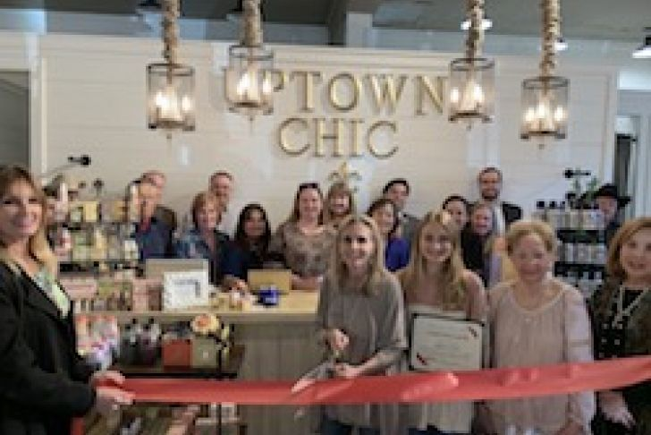 Uptown Chic Ribbon Cutting photo