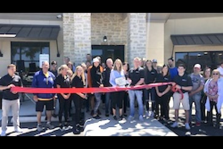 Core Athletic Club Grand Opening Ribbon Cutting Photo