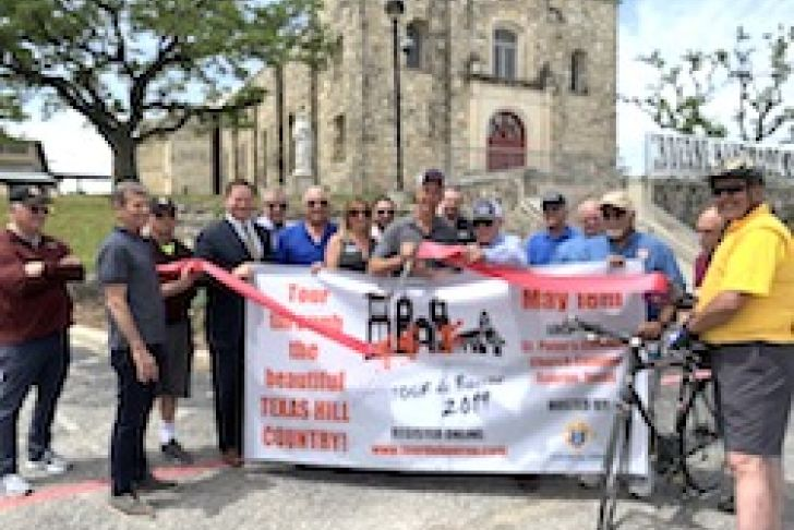 Tour de Boerne Ribbon Cutting Photo