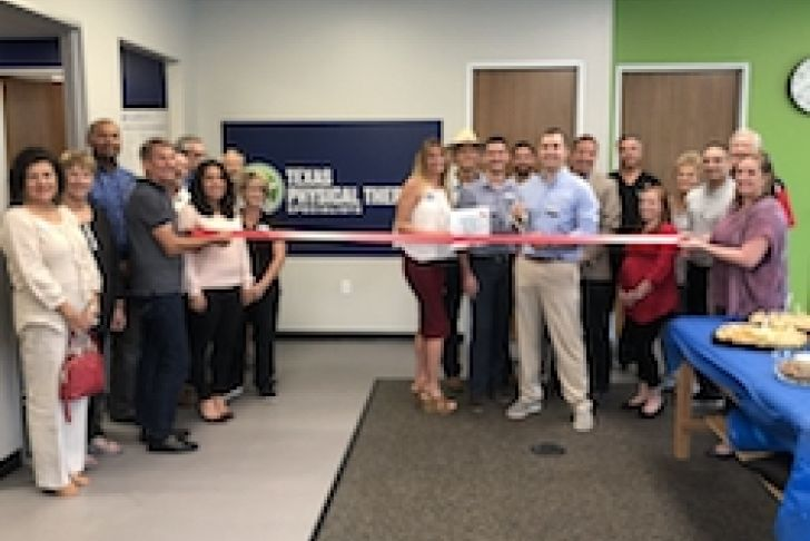 Texas Physical Therapy Specialist Ribbon Cutting Photo