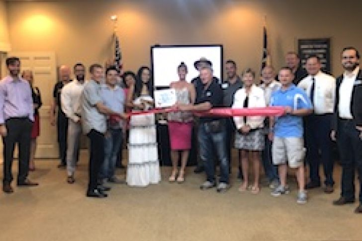 Golden Outlook Insurance Services Ribbon Cutting Photo