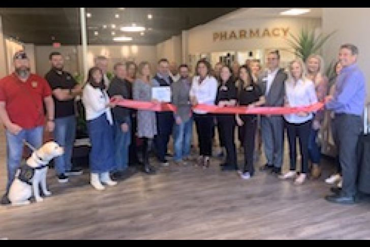 The Pharmacy at Bergheim Ribbon Cutting Photo